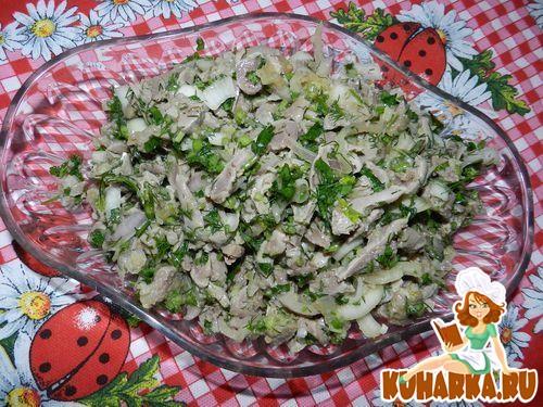 Рецепт Закуска из куриных желудочков