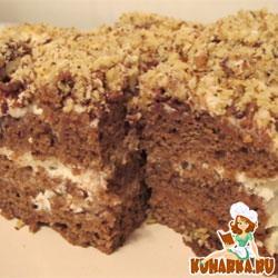 Рецепт Шоколадный торт на кипятке