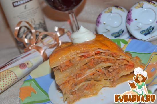 Рецепт Капустная лазанья