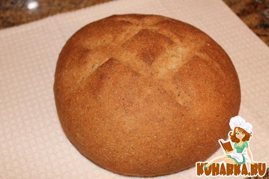 Рецепт Деревенский ржаной хлеб