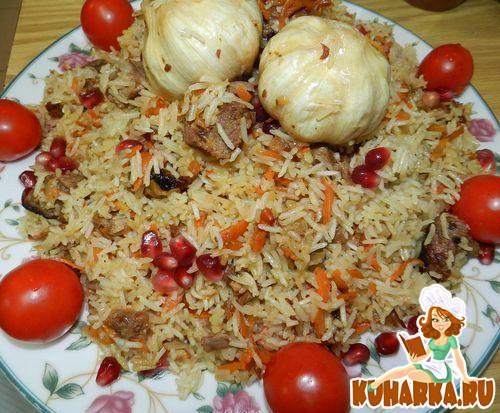 Рецепт Узбекский плов из ташкентской чайханы