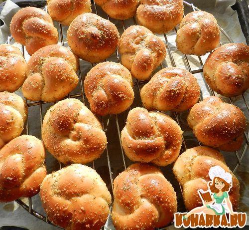 Рецепт Закусочные булочки Карины