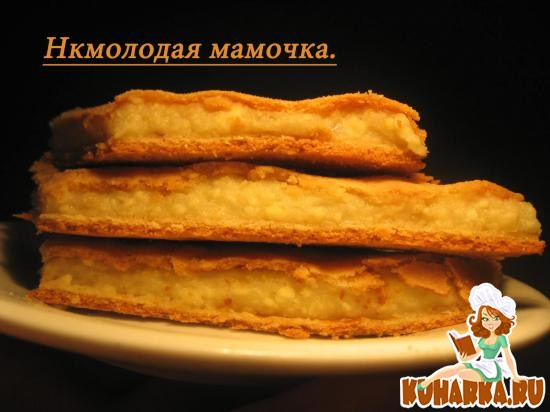 Рецепт Молдавский пирог с брынзой и картошкой.