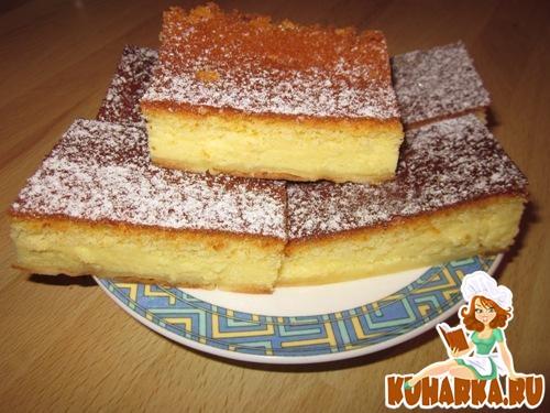 """Рецепт """"Умное"""" пирожное"""