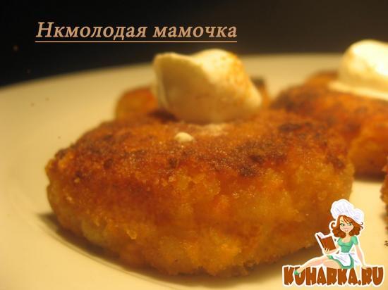 Рецепт Морковно - яблочные котлеты.