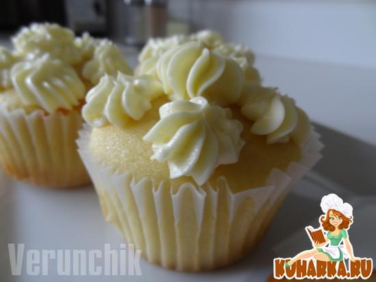 Рецепт Апельсиновые капкейки