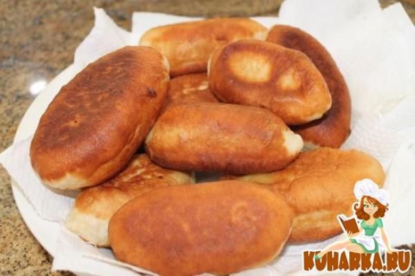 Воздушное тесто на жареные пирожки