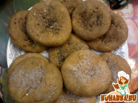 Рецепт Печенье на огуречном рассоле