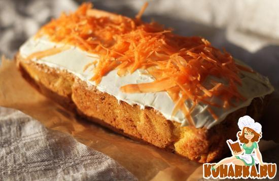 Рецепт Mорковный пирог