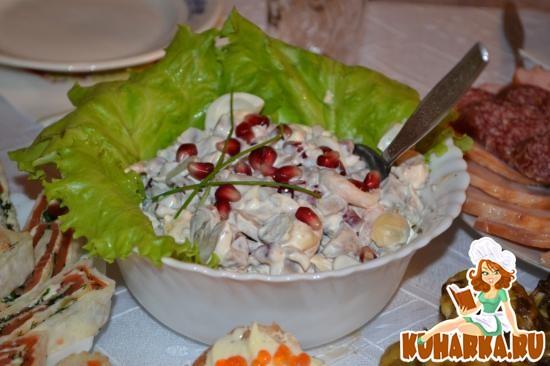 Салат буржуй фото рецепт