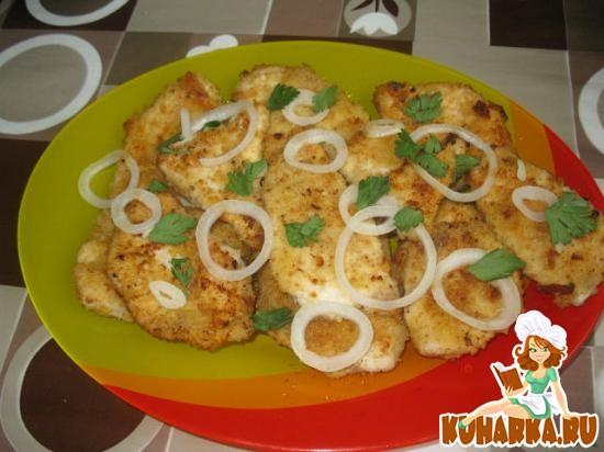 Рецепт Лангет из куриного филе