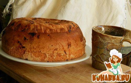 Рецепт Апельсиновая шарлотка