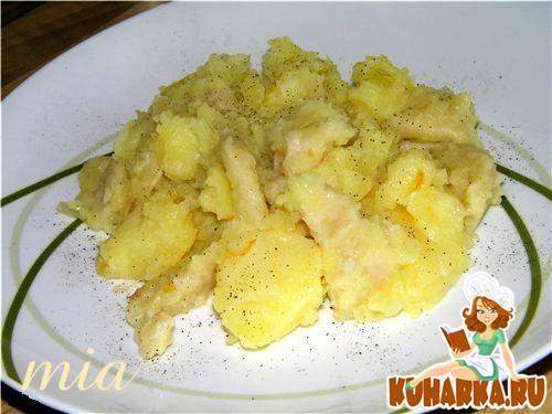 Рецепт Галушки картофельные