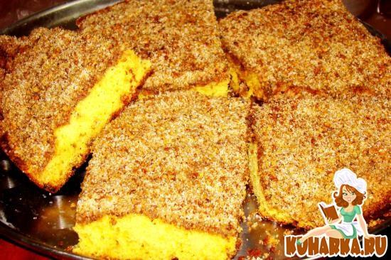 Рецепт Пирог с орехами