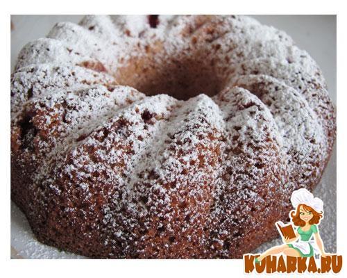 Рецепт Творожно-ягодный манник