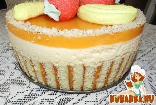 Рецепт Абрикосовый торт-суфле