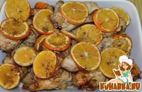 Рецепт Курица по-яффски