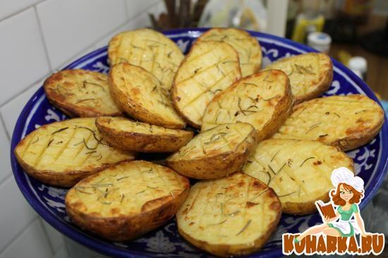 Рецепт Kартошка половинками