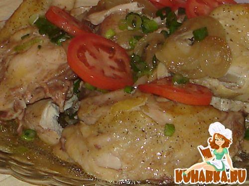 Рецепт Курица в банке