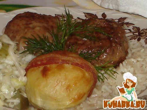 Рецепт Тефтели в сливочно грибном соусе