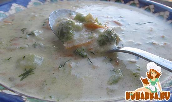 Рецепт Бабушкин сырный суп