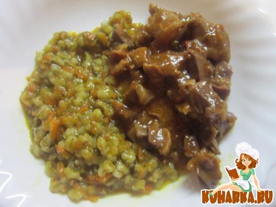 Рецепт Куриные желудки в томатном соусе