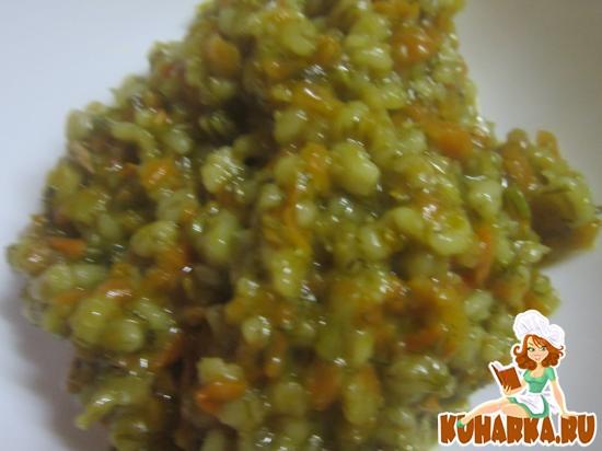 Рецепт Перловая каша с морковью