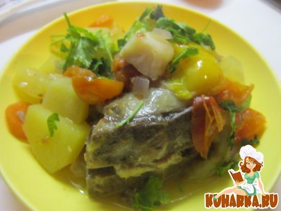 Рецепт Овощное рагу с бараниной