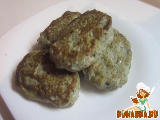 Рецепт Котлеты курино-грибные