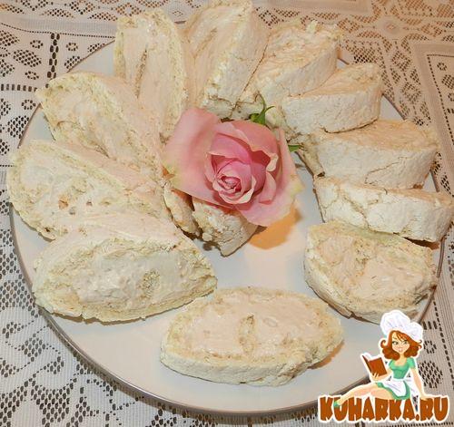 Рецепт Меренговый Рулет (Mascarpone Meringue Roulade)