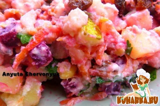 Рецепт Грушёвый салат.