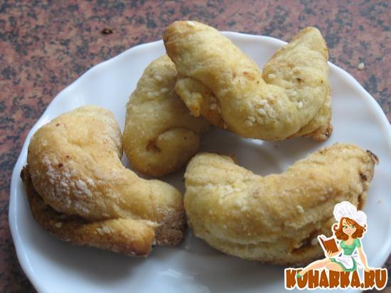 Рецепт Рогалики пряные