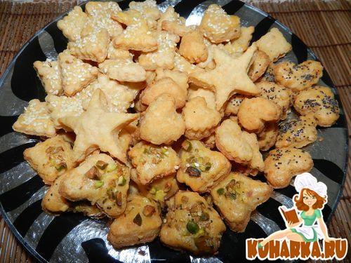 Рецепт Нежное сырное печенье