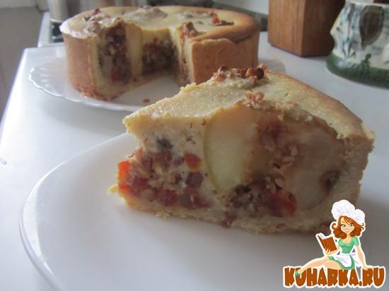 Рецепт Благородный пирог с яблоками