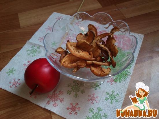 Рецепт Яблочные чипсы