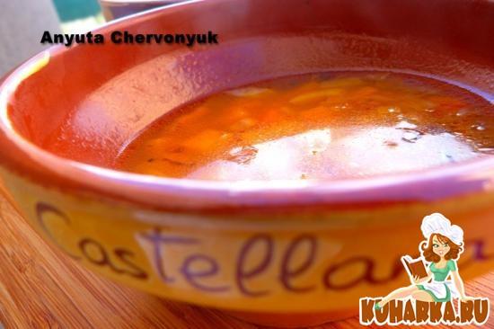 Рецепт Суп с тыквой, морковью и фенхелем.