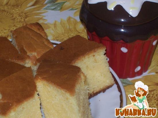 Рецепт Бразильский кукурузный пирог