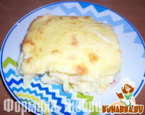 Рецепт Картофельная запеканка (Spuma di patate).