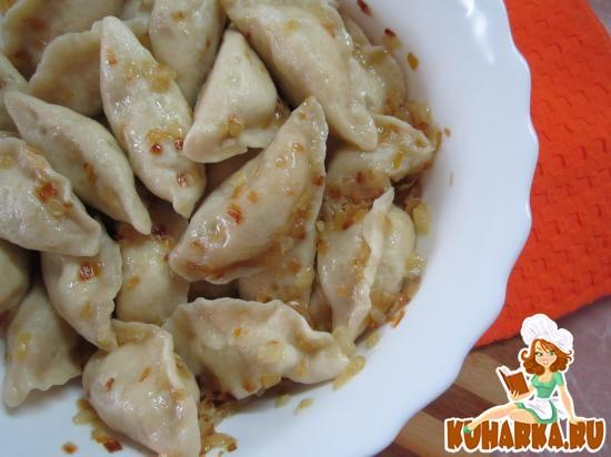 Рецепт Вареники с фасолью.