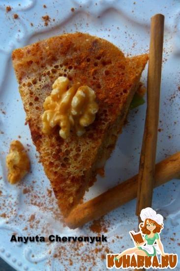Рецепт Пирог с сухофруктами на пару.