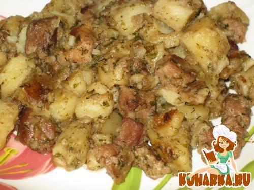 Рецепт Мясное рагу с картошкой