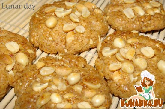 Рецепт Ореховое печенье из арахиса