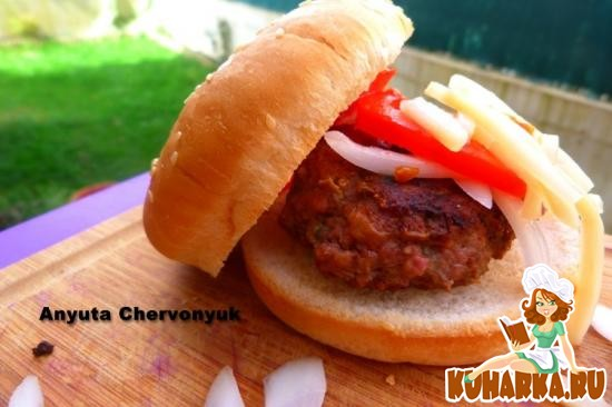 Рецепт Гамбургер с кумином
