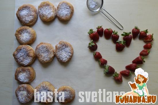 Рецепт Ереванские пончики (с заварным кремом)