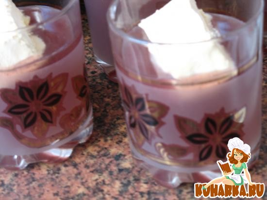 Рецепт Кисель с мороженым