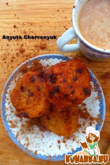 Рецепт Малайские банановые пончики.