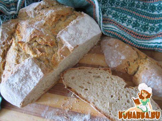 Рецепт Ирландский или серый содовый хлеб.