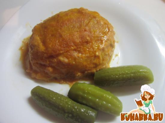 Рецепт Картофельные шарики с мясом