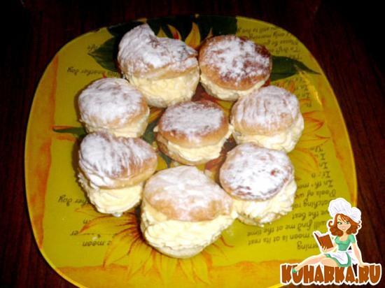 Рецепт Пирожные ракушки