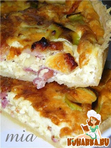 Рецепт Киш Лорен (Quiche Lorraine)